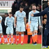 Sarri ditches team bus to take car back from Chelsea's defeat at Bournemouth
