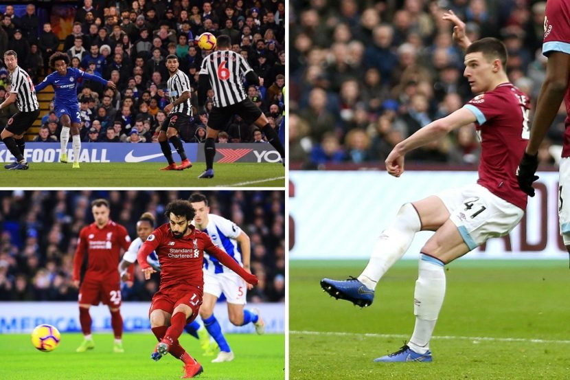 Premier League highlights: Salah spot on for Liverpool but Arsenal's top-four hopes take battering