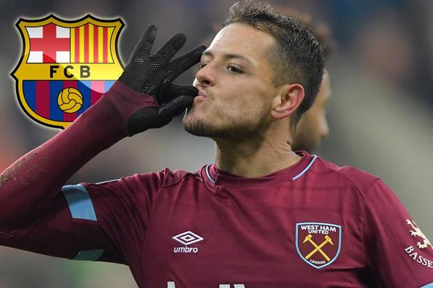 Barcelona eye shock move for Javier Hernandez and Fernando Llorente