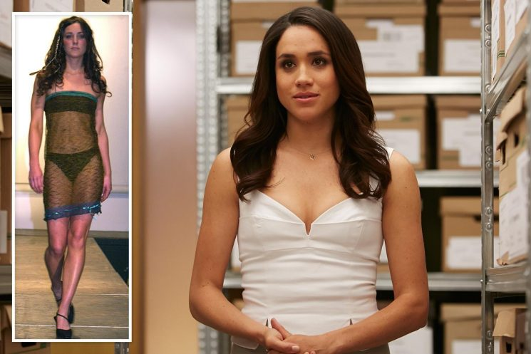How Meghan Markle sassy school performance mirrored Kate Middleton's famous see-through dress moment