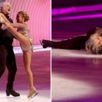 Dancing On Ice's Mark Little crashes out of the competition after 'sexting' scandal with model behind his wife's back