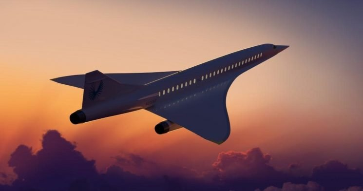Boom Unveils Plans For Supersonic Speed Traveling Plane 'The Overture'