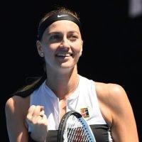 Kvitova hammers Anisimova to reach quarter-finals