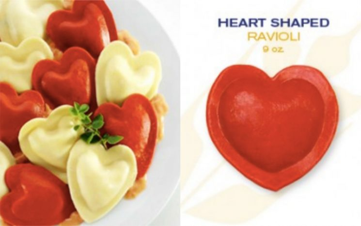 You Can Get Heart-Shaped Ravioli Stuffed With 4 Cheeses At Costco Right Now