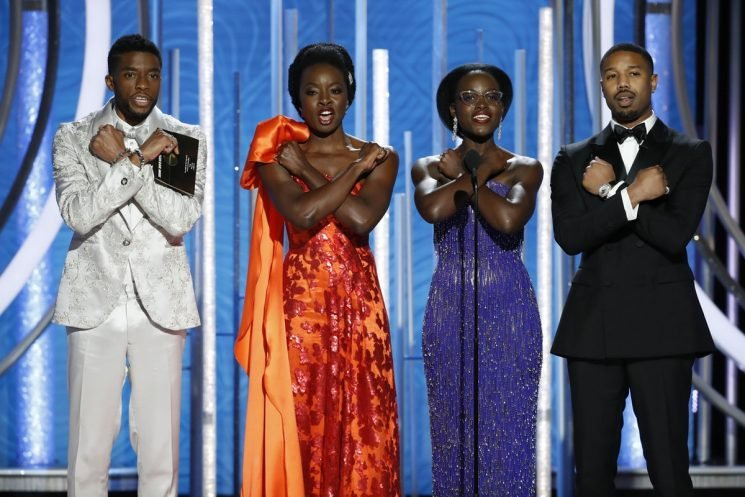 Everything The Cast Of 'Black Panther' Wore To The Golden Globes