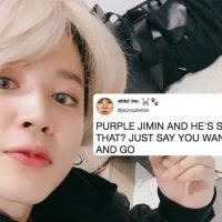 "Jimin From BTS' New Purple Hair At The SMAs Takes ""I Purple You"" To An Epic New Level"