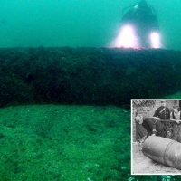 Fisherman asks Twitter to identify huge mystery object caught in his net told 'Throw it back!' – as it's a ONE TON BOMB