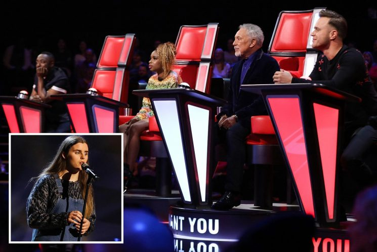 The Voice star Grace Latchford gets through with original song as she breaks show record