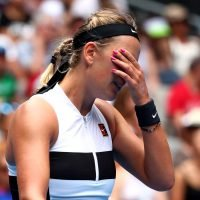 Teary Victoria Azarenka breaks down after Australian Open loss