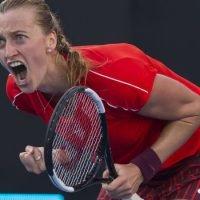 Kvitova breaks Aussie hearts with thrilling tiebreak win over Barty