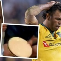 Second leaked video shows Kurtley Beale skylarking around suspicious substance