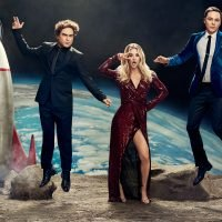 The Big Bang Theory stars have a blast in EW's exclusive portraits