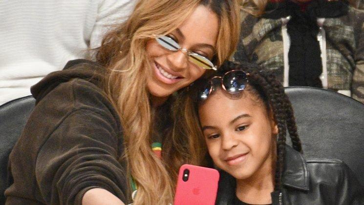 This Rare Photo Proves Beyoncé & Blue Ivy Are Total Twins