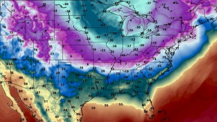 Polar vortex descends on US with 'dangerous, extremely rare' wind chills