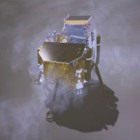 Chinese probe sends back first snap of 'dark' side of the moon