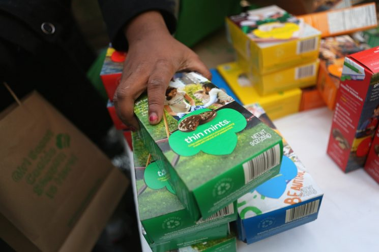 Here's How To Find Where Girl Scout Cookies Are Sold, So You'll Never Run Low On Samoas
