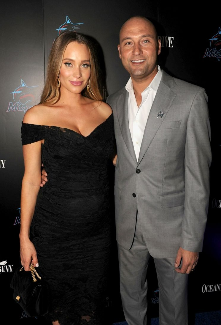 A New Rookie! Derek Jeter and Wife Hannah Welcome Daughter Story Grey