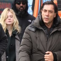 Elle Fanning Gets to Work on 'Molly' in NYC!