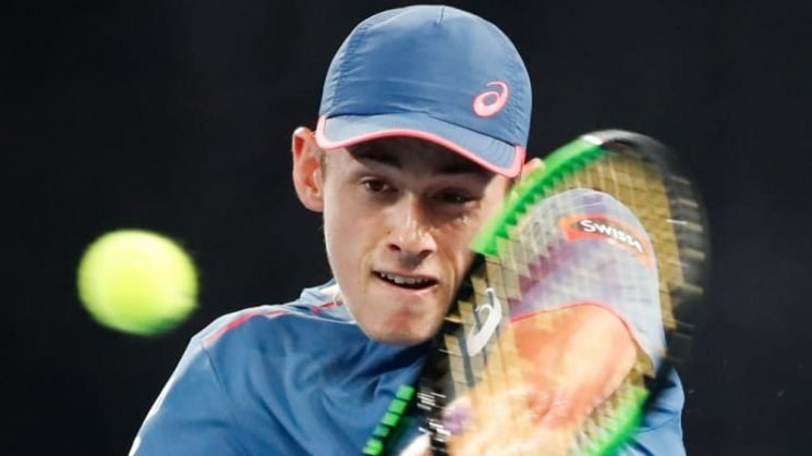 Running man: De Minaur ready to put in the miles to reach the top