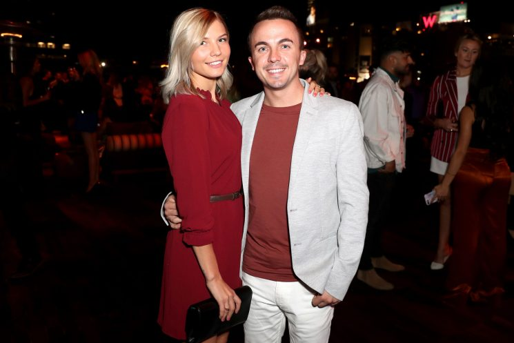 Frankie Muniz Takes Over Scottsdale Olive Oil Shop with Fiancée Paige Price