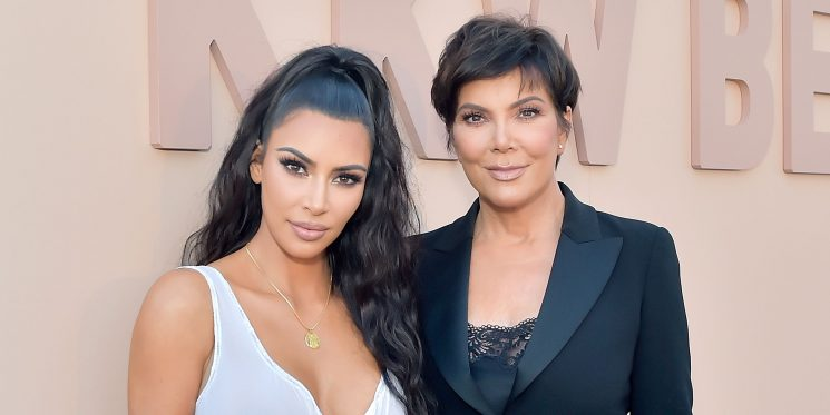 Kris Jenner Got Bangs and Now She's Kim's Twin