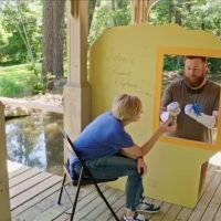 Home Town's Ben Napier Builds a 'Puppet Playhouse' for Daughter Helen – See the Cute Clip