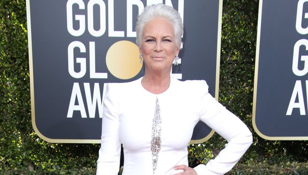 Jamie Lee Curtis Debuts Stunning Platinum 'Do & Looks Better Than Ever At The Golden Globes
