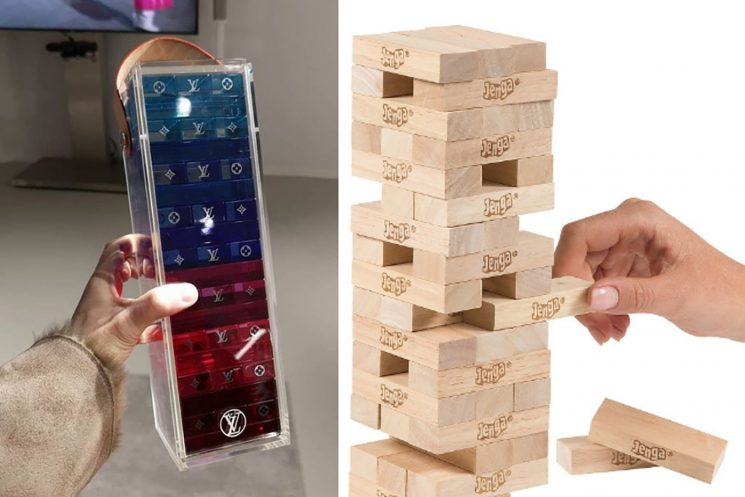 Louis Vuitton's new luxury Jenga game will cost you $2,400