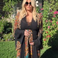Did Pregnant Jessica Simpson Reveal Her Daughter on the Way's Name at Her Baby Shower?