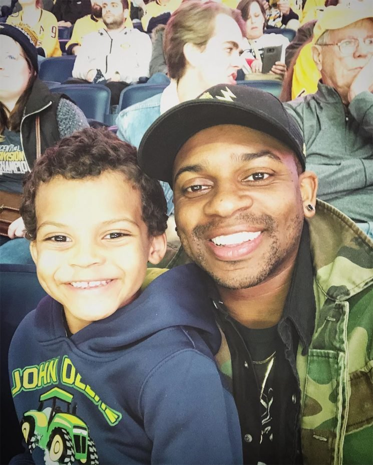 Jimmie Allen Deals with New Problem After Indulging Son: 'Now He Thinks Disney World Is Real Life'