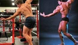Arnold Schwarzenegger's Son Joseph Baena Shows Off His Muscles & Recreates His Dad's Classic Pose