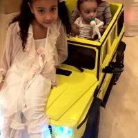 Chicago West Gets a Mini Neon Mercedes G-Wagon for Her First Birthday to Match Mom Kim Kardashian
