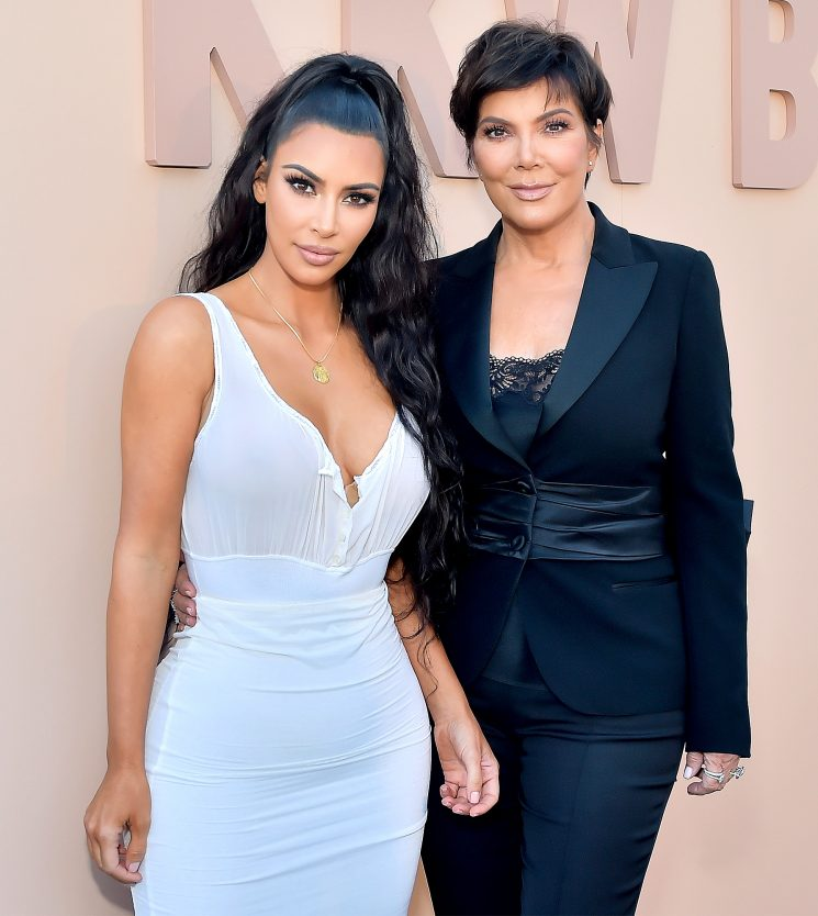 Kris Jenner Plays Coy When Asked About Kim Kardashian's Baby on the Way: 'Always a Full House'