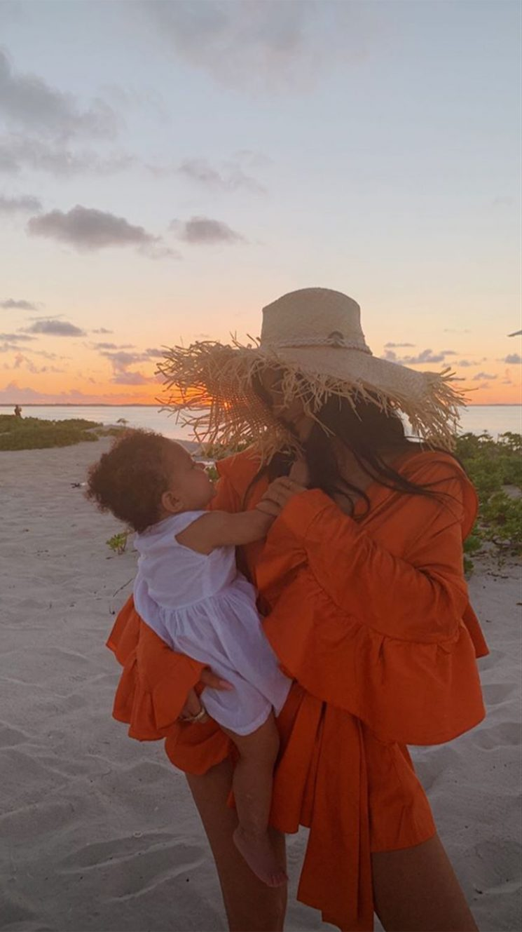 Kylie Jenner Kicks Off Stormi's First Birthday Celebration with a Luxury Tropical Vacation