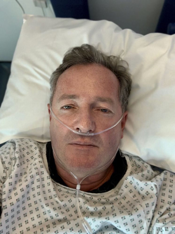 Piers Morgan Reveals He's Been Hospitalized in London