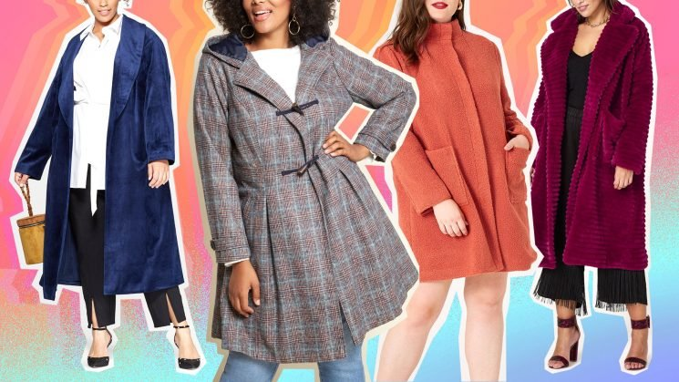 Cute Plus-Size Coats Do Exist, & We Found Them