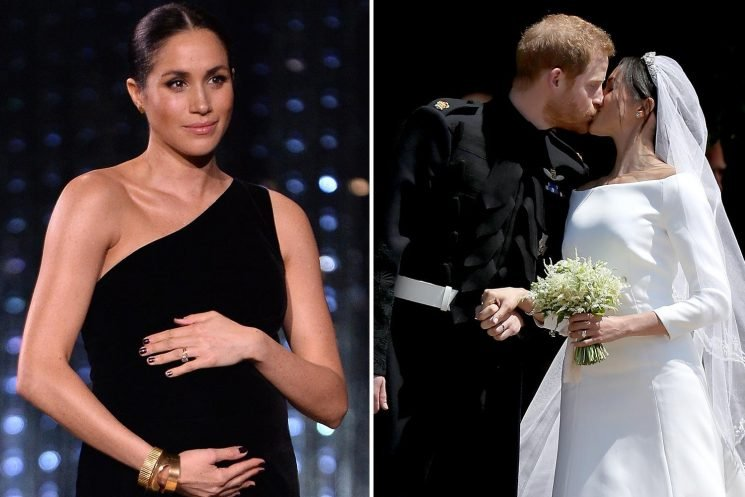 February is now the odds-on favourite for Meghan Markle to give birth