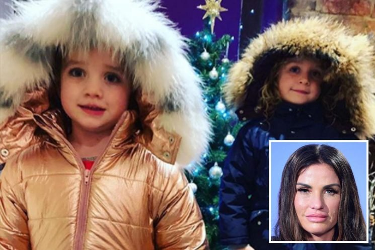 Katie Price forced to deny 'exploiting' Bunny and Jett after fans accuse her of using them to sell coats