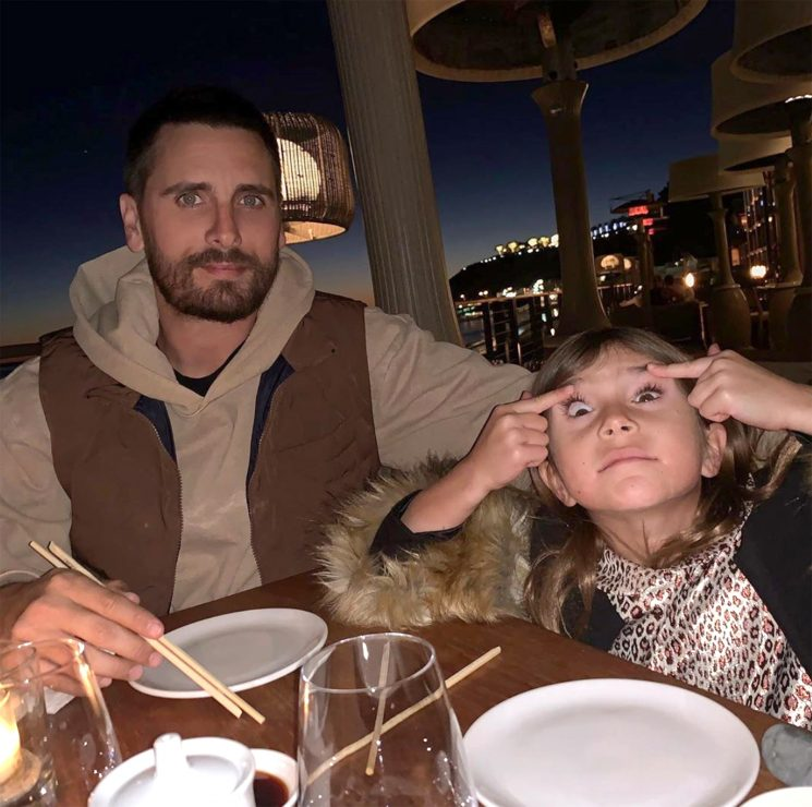 Scott Disick's Photo of Daughter Penelope Pulling a Face at Dinner Branded Racist by Some Fans