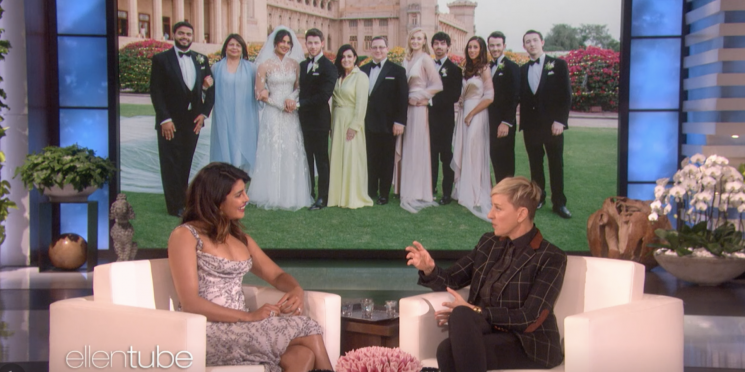 Ellen Confronts Priyanka Chopra for Not Inviting Her to Her Wedding