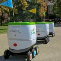 College campus rolls out 'snackbots' to replace vending machines