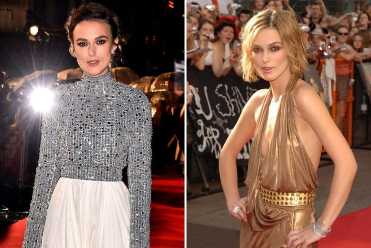 Keira Knightley admits her 'world crashed' when she was 22 and she was close to quitting acting