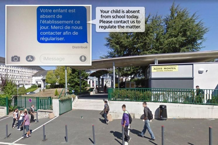 School texts 1,500 parents telling them their kids are missing due to messenger glitch