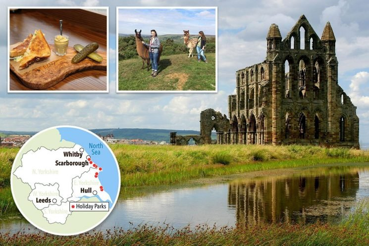 Yorkshire offers history and hikes plus Hols From £9.50 deals for British holidays