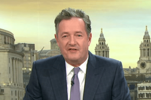 Piers Morgan reveals he was asked to fake his own death for a TV show