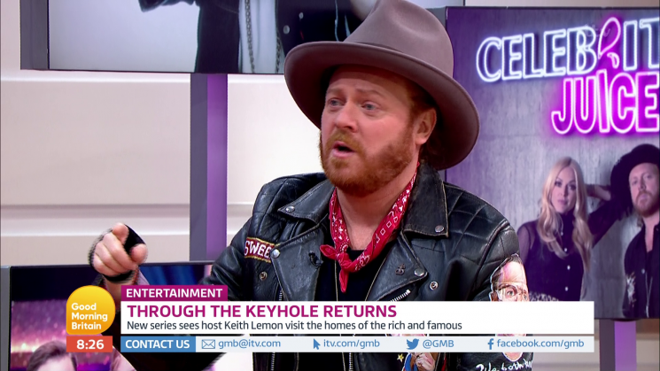 Keith Lemon hints Emily Atack could be Fearne Cotton's replacement on Celebrity Juice