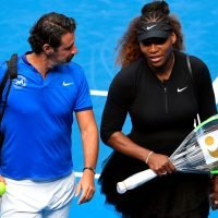 Serena's coach Patrick Mouratoglou didn't worry about his job security after US Open