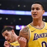 Why did Kyle Kuzma tweet at halftime of the Lakers game' vs. Bulls?