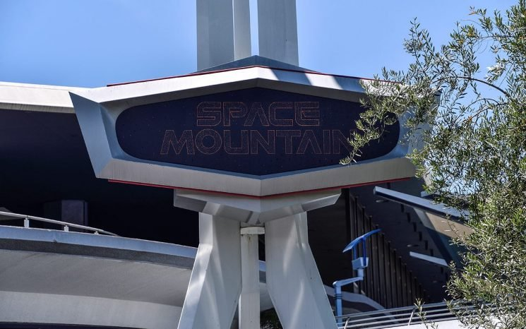 Disneyland closes Space Mountain after visitor jumps off mid-ride