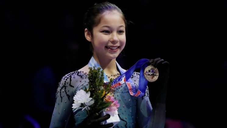 Alysa Liu, 13, becomes youngest winner of individual title at US Figure Skating Championships